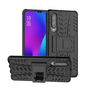 Protect your Huawei P30 from bumps and scrapes with this black ArmourDillo case. Comprised of an inner TPU case and an outer impact-resistant exoskeleton, the ArmourDillo provides robust protection and supreme styling.