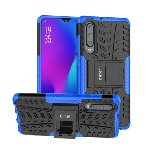 Protect your Huawei P30 from bumps and scrapes with this blue ArmourDillo case. Comprised of an inner TPU case and an outer impact-resistant exoskeleton, the ArmourDillo provides robust protection and supreme styling.