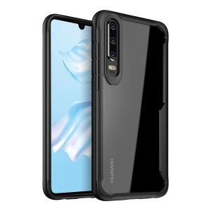 Olixar NovaShield Huawei P30 Bumper Case - Black