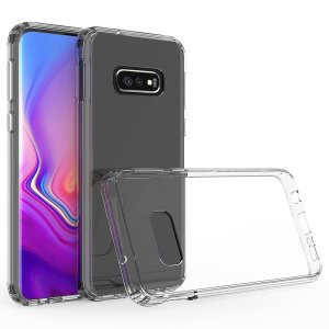 Custom moulded for the Samsung Galaxy S10e. This clear Olixar ExoShield tough case provides a slim fitting stylish design and reinforced corner shock protection against damage, keeping your device looking great at all times.
