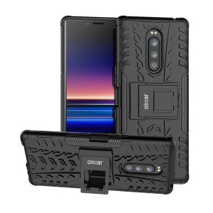 Protect your Sony Xperia 1 from bumps and scrapes with this black ArmourDillo case. Comprised of an inner TPU case and an outer impact-resistant exoskeleton, the Armourdillo offers sturdy and robust protection.