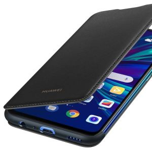 The official Huawei protective wallet cover case in black for the Huawei P Smart 2019 offers excellent protection. Crafted from the finest materials, this case provides a sophisticated feel.