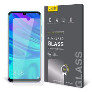 This ultra-thin tempered glass screen protector for the Huawei P Smart 2019 from Olixar offers toughness, high visibility and sensitivity all in one package.