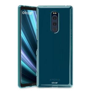 Fabriquée sur mesure pour votre Sony Xperia 1 en coloris bleu, la coque Olixar FlexiShield est dotée d'une conception robuste en gel et offre une excellente protection à votre smartphone au quotidien.