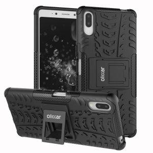 Protección con gran calidad para su Sony Xperia L3 gracias a esta funda Olixar Armourdillo, fabricada con doble capa para una mayor resistencia a impactos.