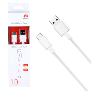 Perfect for charging and syncing across files, this official 1m Huawei Super Charge USB-C to USB-A cable provides blistering charge and transfer speeds.