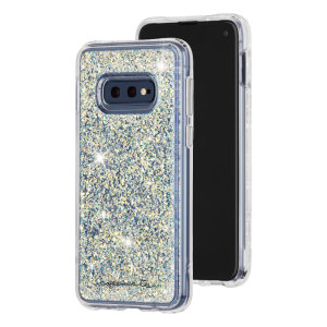 Ultra slim protection for your Samsung Galaxy S10e with the Case-Mate Waterfall case in gold. Featuring dual layer design and an ostentatious look, this case is built to U.S. Military standards to withstand accidental damage.