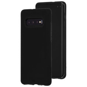 Premium protection for your Samsung Galaxy S10 Plus, the Case-Mate Tough Grip case in black provides military impact protection and withstands scratches, bumps and drops, whilst enhancing your grip.