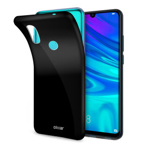 Custom moulded for the Huawei P Smart 2019, this 100% black Olixar FlexiShield case provides slim fitting and durable protection against damage.