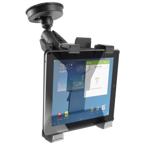 iBolt TabDock Bizmount is a heavy duty, a multi-angle mounting solution designed for windscreen or dashboard for all tables from 7 to 10 inches. Designed to be installed directly to any flat surface as it comes with a suction cup.