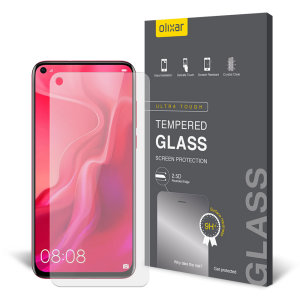 Olixar Huawei Nova 4 Tempered Glass Screen Protector