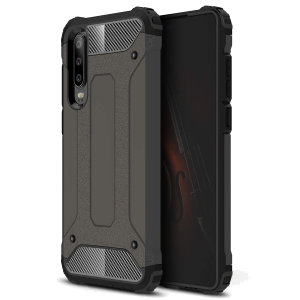 Protect your Huawei P30 from bumps and scrapes with this gunmetal Delta Armour case from Olixar. Comprised of an inner TPU section and an outer impact-resistant exoskeleton.