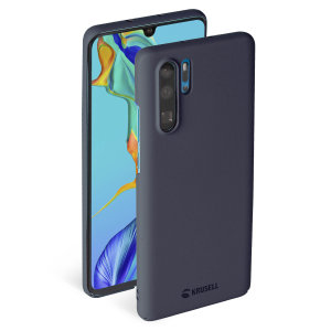 Krusell's Sandby in stone combines Nordic chic with Krusell's values of sustainable manufacturing for the socially-aware Huawei P30 Pro owner who wants an elegant lightweight case for Huawei P30 Pro