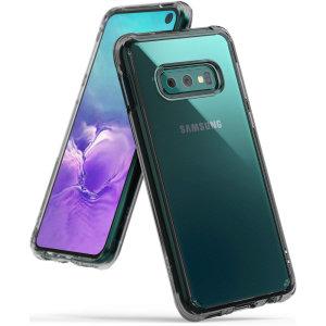 Ringke Fusion Samsung Galaxy S10e Case - Smoke Black