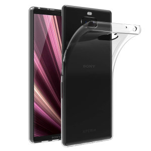 Custom moulded for the Sony Xperia 10 Plus, this clear FlexiShield case from Olixar provides a slim fitting and durable protection against damage, with an alluring jet black appearance.