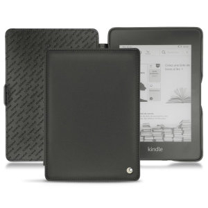This stylish black genuine leather case from Noreve will protect your Kindle Paperwhite 4 (2018) from all kinds of knocks. The featured hand strap also makes it very easy to use.