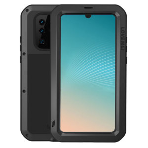Protect your Huawei P30 Pro with one of the toughest and most protective cases on the market, ideal for helping to prevent possible damage from water and dust, this is the black Love Mei Powerful Protective Case.