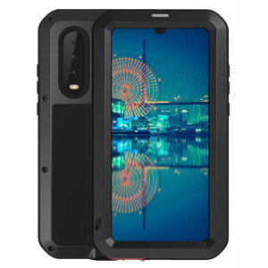 Protect your Huawei P30 with one of the toughest and most protective cases on the market, ideal for helping to prevent possible damage from water and dust, this is the black Love Mei Powerful Protective Case.