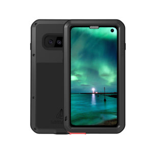 Protect your Samsung Galaxy S10 with one of the toughest and most protective cases on the market, ideal for helping to prevent possible damage from water and dust - this is the black Love Mei Powerful Protective Case.