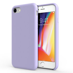 Custom moulded for the iPhone 8 / 7, this lilac soft silicone case from Olixar provides excellent protection against damage as well as a slimline fit for added convenience.