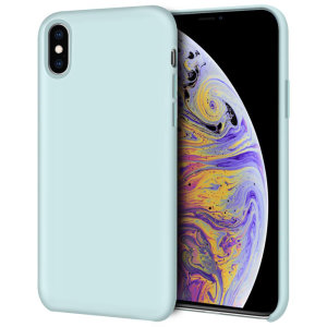 Custom moulded for the iPhone X, this pastel green soft silicone case from Olixar provides excellent protection against damage as well as a slimline fit for added convenience.