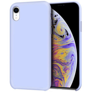 Custom moulded for the iPhone XR, this lilac soft silicone case from Olixar provides excellent protection against damage as well as a slimline fit for added convenience.