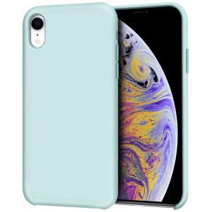 Diese pastellgrüne, weiche Silikonhülle von Olixar ist speziell für das iPhone XR geformt und bietet hervorragenden Schutz vor Beschädigungen sowie eine schlanke Passform für zusätzlichen Komfort.