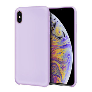Custom moulded for the iPhone XS Max, this lilac soft silicone case from Olixar provides excellent protection against damage as well as a slimline fit for added convenience.