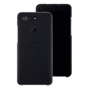 This official Huawei protective case in black for the Honor View 20 offers excellent protection while maintaining your device's sleek, elegant lines. Featuring a built-in card slot and reinforced corners provide extra shock absorption.