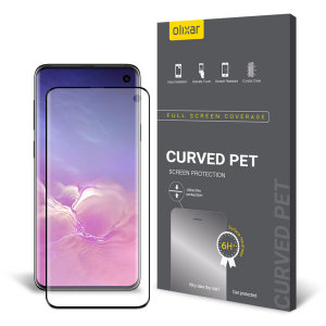 Olixar Samsung Galaxy S10 PET Curved Screen Protector