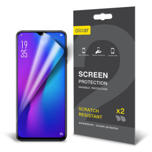 Keep your Huawei P30 Pro's screen in pristine condition with this Olixar scratch-resistant screen protector 2-in-1 pack.