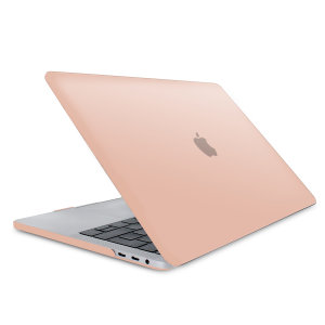 "The Olixar ToughGuard Hard Case in champagne gold gives your MacBook Pro Retina 13 inch the protection it needs without adding any unnecessary bulk. Compatible with the MacBook Pro 13"" with Retina Display A1708, versions 2016 to 2018."