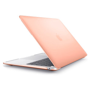 The ToughGuard Hard Case in champagne gold gives your MacBook Air 2018 13 inch the protection it needs without adding any unnecessary bulk.