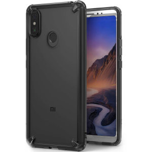 Secure your device with the highest quality clear Xiaomi Mi Max 3 Case in smoke black. With the shock absorption technology and premium thermoplastic polyurethane bumpers for the easy grip, this case provides the maximum protection for your phone.
