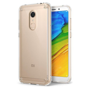 Secure your device with the highest quality clear Xiaomi Redmi 5 Plus Case from Rearth Ringke. With the shock absorption technology and premium thermoplastic polyurethane bumpers for the easy grip, this case provides the maximum protection for your phone.