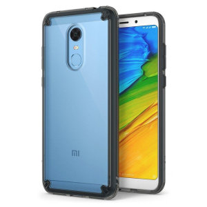 Secure your device with the highest quality clear Xiaomi Redmi 5 Plus Case in smoke black. With the shock absorption technology & premium thermoplastic polyurethane bumpers for the easy grip, this case provides the maximum protection for your phone.