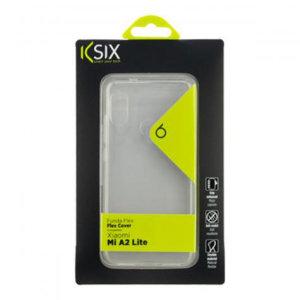Fabricada específicamente para el Xiaomi Mi A2 Lite, esta funda transparente de KSIX le ayudará a mantener su dispositivo como el primer día.