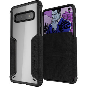 Ghostek Exec 3 Samsung Galaxy S10 Wallet Case - Black