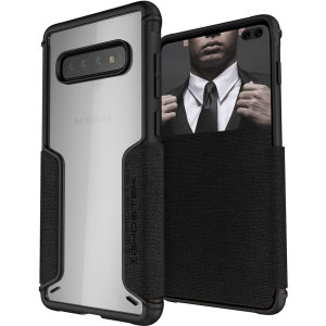 Ghostek Exec 3 Samsung Galaxy S10 Plus Wallet Case - Black