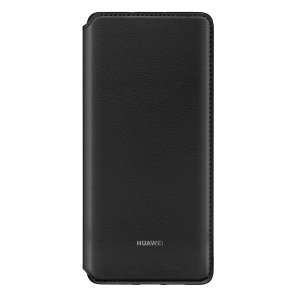 The official Huawei protective wallet cover case in black for the Huawei P30 Pro offers excellent protection. Crafted from the finest materials, this case provides a sophisticated feel.