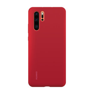 This official Huawei Silicone case for the Huawei P30 Pro in Red offers excellent protection while maintaining your device's sleek, lines. As an official product, it is designed specifically for the P30 Pro and allows full access to buttons and ports.