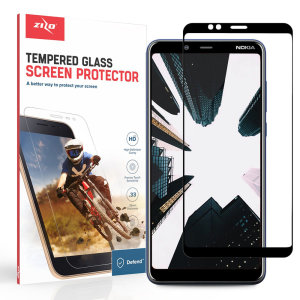 Protect all of your Nokia's 3.1 Plus beautiful display with an edge to edge tempered glass screen protectors from Zizo. With superb clarity and durable construction, this is the perfect way to keep your screen looking good.