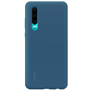 This official Huawei Silicone case for the Huawei P30 in Blue offers excellent protection while maintaining your device's sleek, lines. As an official product, it is designed specifically for the P30 and allows full access to buttons and ports.