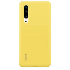 Official Huawei P30 Silicone Case - Yellow