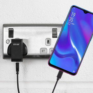 Charge your Oppo RX17 Neo quickly and conveniently with this compatible 2.5A high power charging kit. Featuring mains adapter and USB cable.