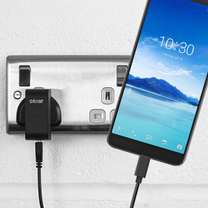 Charge your Alcatel 7 and any other USB device quickly and conveniently with this compatible 2.5A high power USB-C UK charging kit. Featuring a UK wall adapter and USB-C cable.