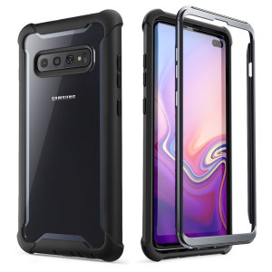 Shield your Samsung Galaxy S10 Plus from drops, scratches, scrapes and other damage with the Ares case from i-Balson in Black. This case offers superb military grade protection while adding virtually no extra bulk or weight to your device.