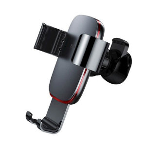 Keep your phone close at hand and safely in view while driving with the Baseus Air Vent Gravity Holder with one hand mounting & dismounting and 360° rotation.