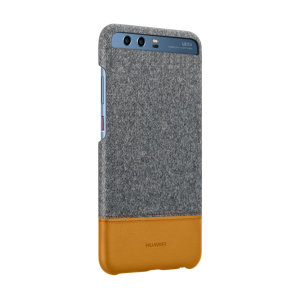 This official case from Huawei with grey fabric and brown leather-style materials provides all-around protection for your Huawei P10 Plus, while still keeping it slim, classic and elegant.