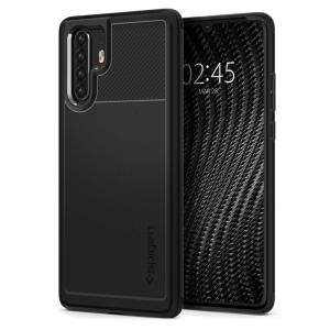 Meet the newly designed rugged armor case for the Huawei P30 Pro. Made from flexible, rugged TPU and featuring a mechanical design, including a carbon fibre texture, the rugged armor tough case in black keeps your phone safe and slim.
